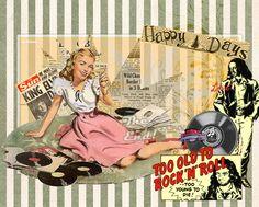 pop art rock and roll - Buscar con Google
