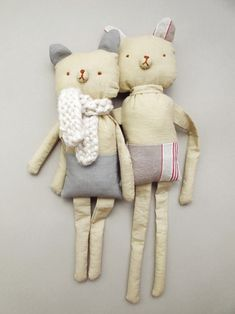 Fabric softies