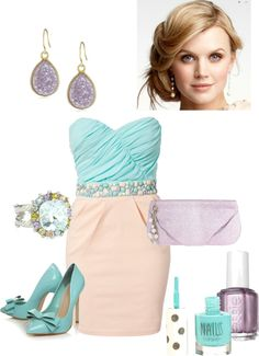 """""""cool colors"""" by chelsi-a on Polyvore"""