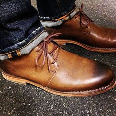 #ColeHaan #ChukkaBoots. Lovely #Instagram photo....great jeans too Sir!