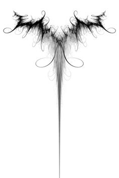 Dark Souled Fey wing tattoo by ~DifferentSpin on deviantART