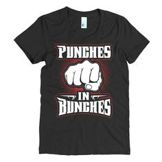 Punches in Bunches - Women's short sleeve MMA t-shirt