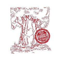 Tree of Love rubber stamp from Make it Crafty available from Little Miss Muffet Stamps.