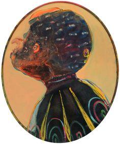 Galerie EIGEN+ART Ryan Mosley Mural Painting, Cool Paintings, Painting & Drawing, Painting Portraits, Ryan Mosley, Notebook Drawing, Figurative Kunst, Contemporary Paintings, Illustration