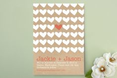 A Joyful Heart Save the Date Cards by 603 Creative Studio at minted.com