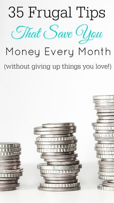 Save money every month, frugal tips, frugal living, thrifty