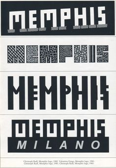 From the book Memphis: Research, Experiences, Failures and Successes of New Design by Barbara Radice