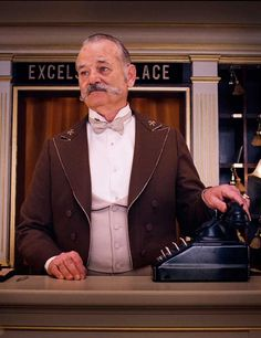 Bill Murray: The Grand Budapest Hotel | ELLE UK