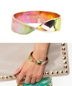 Twist Bangle from Nasty Gal