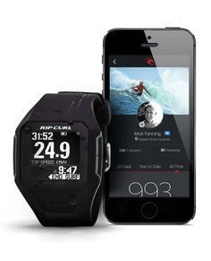 An essential bit of surf tech that gives you instant local tide info and lets you track and analyse your surf performance The Rip Curl Search GPS Watch is like no other in the lineup. Surf Watch, Always On Time, Year Of Dates, Gps Tracking, Surf Outfit, Surfs Up, Rip Curl, Watches For Men, Curls
