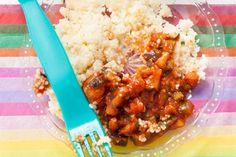 Kijk wat een lekker recept ik heb gevonden op Allerhande! Ratatouille met couscous 10-12 mnd