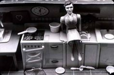 """Laurie Simmons photographer - """"Woman/Kitchen/Sitting"""""""