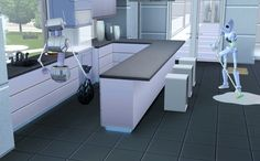 Awesome kitchen!! Wow! / The Sims 3