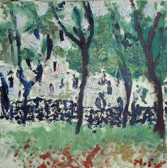 Бух Арон Фроимович [1923—2006] Белые Дома. 1994