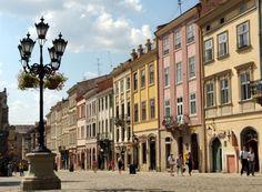 Lviv, Ukraine (home of Okean Elzy!)