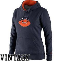 Nike Chicago Bears Ladies Retro Tailgater Pullover Hoodie #bears