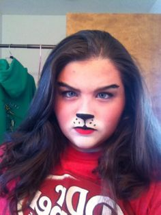 bear costume face paint - Google Search
