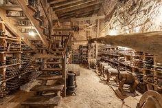 staircase to cellar
