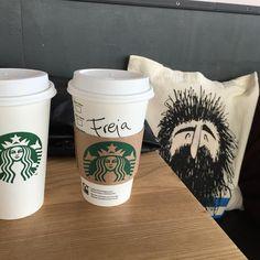 "35 Likes, 1 Comments - @frejabryhl on Instagram: ""Fridays should always be like this 👭 #starbucks #coffee #latte #sun #sunny #friday #vegan"""