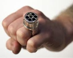Daily Gun Pictures: Circa 1855 Le Petit French Ring Gun (Pepperbox):