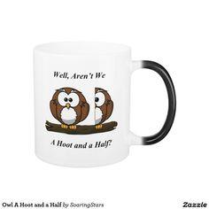 Owl A Hoot and a Half Magic Mug