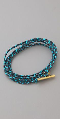 Gorjana Addison Wrap Bracelet  should make this!