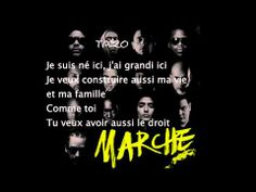 ▶ MARCHE [PAROLES] (Sadek,Soprano,Nessbeal,Taïro,Disiz,Nekfeu,Snzazzy,AKH,Dry...) - YouTube