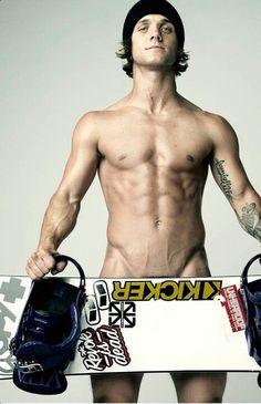 Louie Vito, pro snowboarder, for ESPN Magazine' Body Issue, 2011