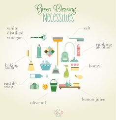 With a newborn on the horizon, I'm a lot more conscious of my efforts in green cleaning and ways to cut the harsh chemicals I bring into our home. Of course, it…