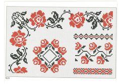 cross stitch, romanian pattern 46