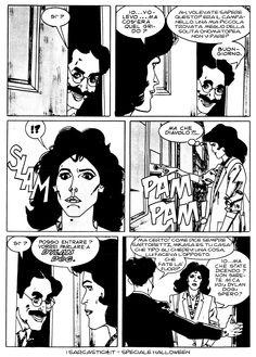 Pagina 04 - L'alba dei morti viventi - lo speciale #Halloween de #iSarcastici4. #LuccaCG15 #DylanDog #fumetti #comics #bonelli