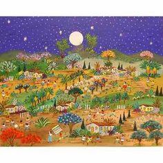 Raquel Galena Tema Sonho Azul Medida 50x40 A.s.t - R$ 800,00
