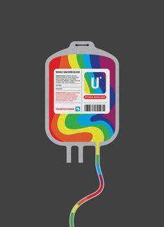Unicorn blood transfusion