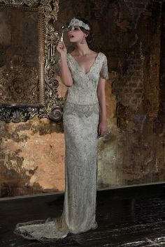 Stunning dress perfect for an art deco wedding. 2016 Wedding Dresses Eliza Jane Howell 'The Grand Opera' Collection (36)