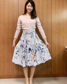 Waist Skirt, Midi Skirt, High Waisted Skirt, Skirts, Yahoo, Instagram, Fashion, Moda, Skirt