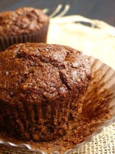 Muffins carotte/caroube/cannelle