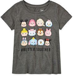DISNEY Disney Tsum Short-Sleeve Better Together Tee - Girls 7-16