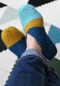 Tossut, slippers ohje aikuisille