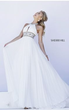 2015 White Sexy Sherri Hill Dress 11251 For Prom
