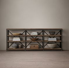"""FRENCH LIBRARY 90"""" CONSOLE http://www.restorationhardware.com/catalog/product/product.jsp?productId=prod2710666&categoryId=cat1850058"""