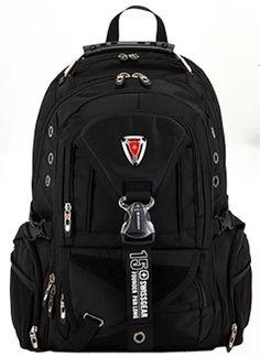 New Men's Nylon Swiss gear Backpack Laptop Bag Travel Hiking Sport Bags Satchel #Unbranded #Backpack