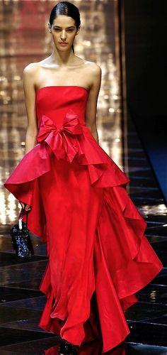 Vermelho Valentino! Vestidos de Festas