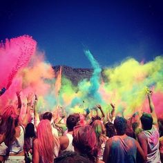 Been to a Colour festival - Holi One Cape Town