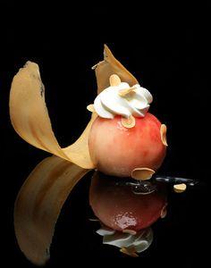 Nicolas Buisson Photography - Food - 05. Pêche melba #plating #presentation #foodart