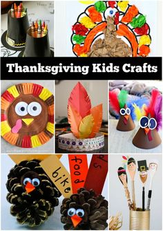 From adorable turkeys to pumpkins and pilgrims, these fun Thanksgiving craft ideas for kids are sure to please.