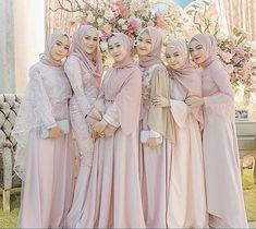 Hijab Prom Dress, Muslimah Wedding Dress, Hijab Evening Dress, Hijab Style Dress, Hijab Bride, Wedding Hijab, Hijab Outfit, Simple Bridesmaid Dresses, Bridal Dresses