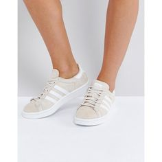 adidas Originals Campus Trainer In Cream ($115) ❤ liked on Polyvore featuring shoes, sneakers, cream, adidas jersey, retro jerseys, adidas sneakers, cream shoes and vintage style shoes