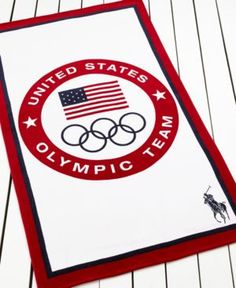 Ralph Lauren Olympic Logo Beach Towel