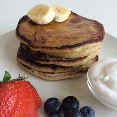 Vegan bananenpannenkoekjes (4 ingrediënten!)