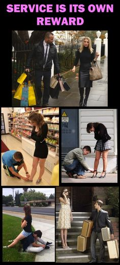 Every male is required to place any woman's needs over his own.